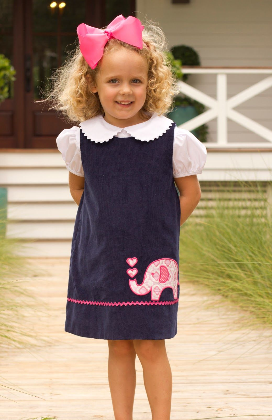 This is a blog dedicated to our passion for hand smocked childrenus