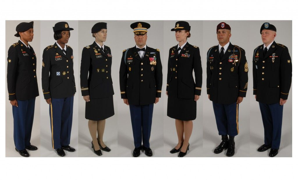 Us Military Dress Chart Titus Presentation Pinterest Army