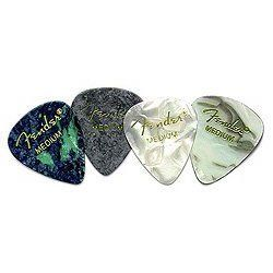 Fender 351 California Clears Guitar Picks, 12 Pack, Shell Pink, Heavy by Fender. $1.59. Dude, like, seriously, you are so the boss of the beach when you use Fender California Clear 351 guitar picks.  With its wider body and rounded tip, our famous 351 shape is, like, the pick shape most associated with Fender.  Available in thin, medium and heavy, of course, and in more cool colors than you can shake a palm frond at.... Save 65% Off!
