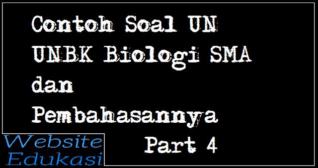 Contoh Soal Un Unbk Biologi Sma Ma Dan Pembahasannya Part 4 Biologi Sma Jaringan Dasar