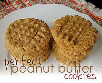 Chewy Peanut Butter Cookie Try With Nutella Cookies Pinterest