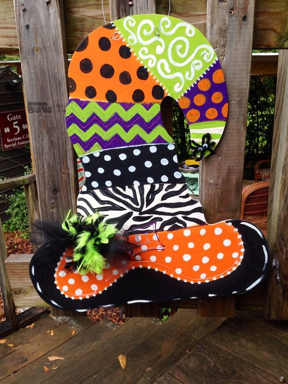 Wooden Initial Letter Door Wall Hanger Etsy In 2020 Halloween Yard Art Christmas Cutouts Fall Crafts