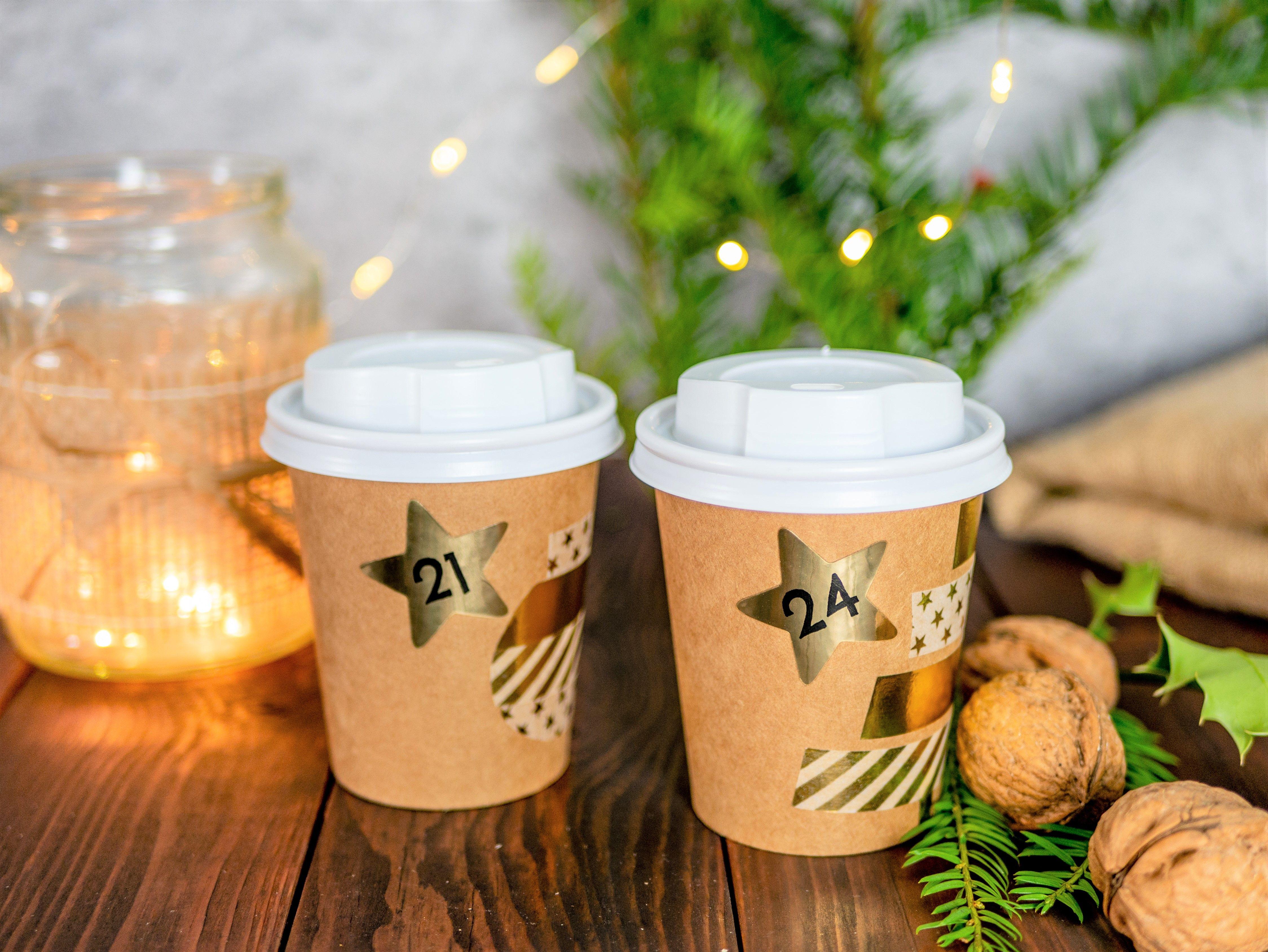 Adventskalender Selber Machen Kaffeebecher Ppd Kaffeebecher Spring
