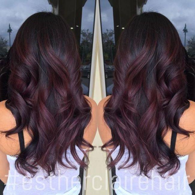 Ombre Hair Sur Base Brune La Couleur Qui Cartonne En 2016 54 Photos Trend Zone Teinture Cheveux Coiffure Cheveux Bruns