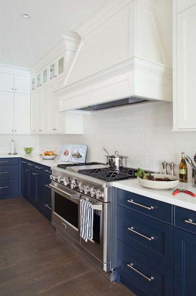 Blue Kitchen #kitchen #interior #trends #color #2021 in ...