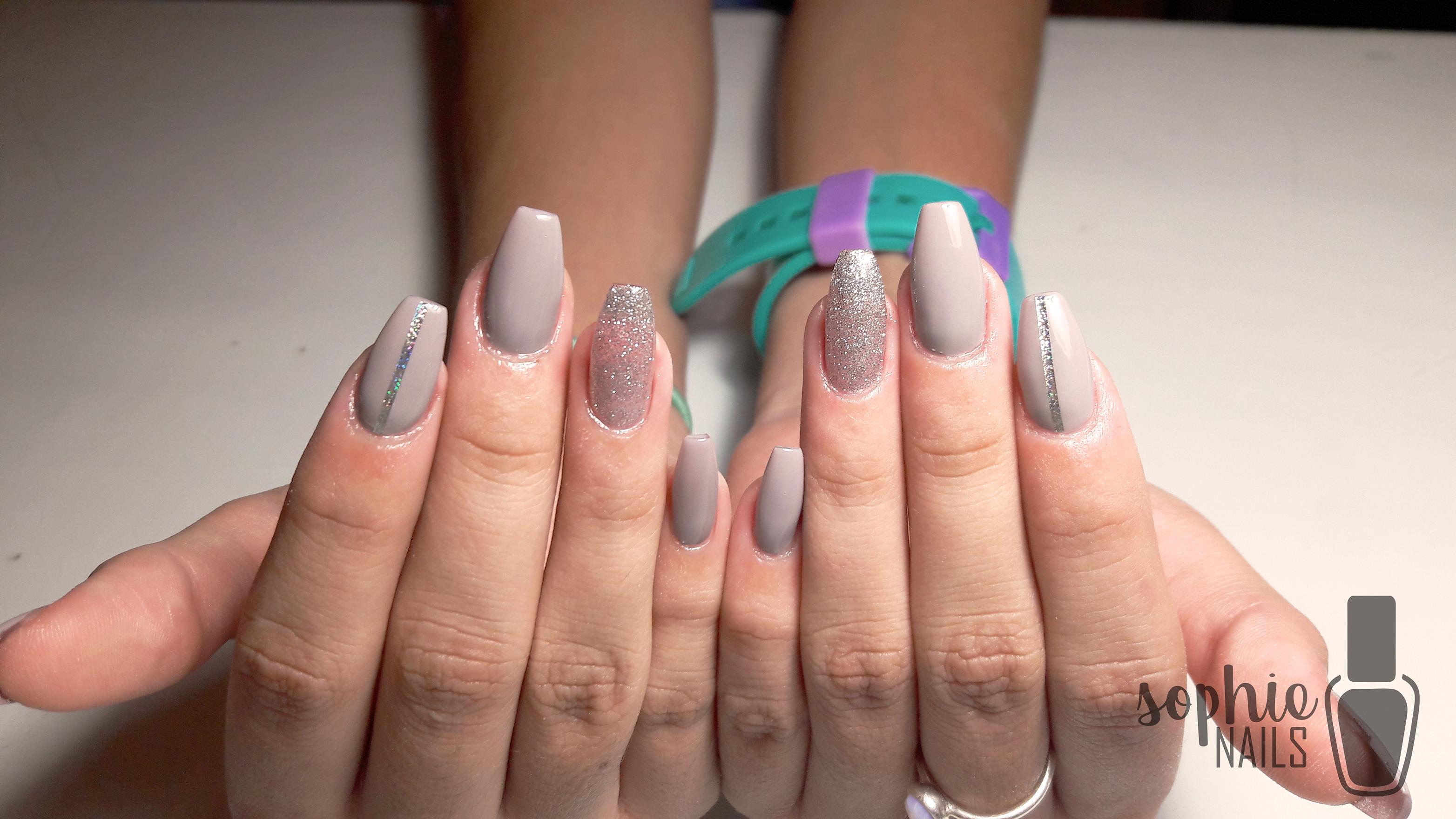 fashionnails #nailart # #style #elegant #gray #vintage #sophienails ...