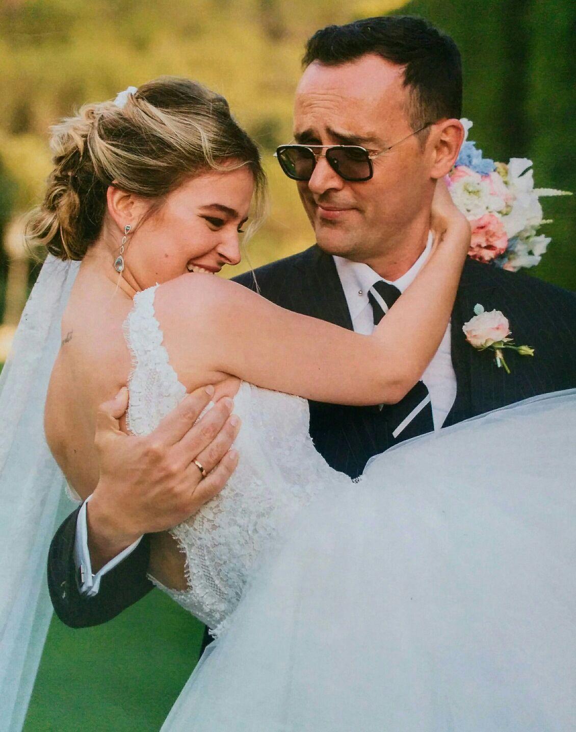 los detalles de la boda de risto mejide y laura escanes