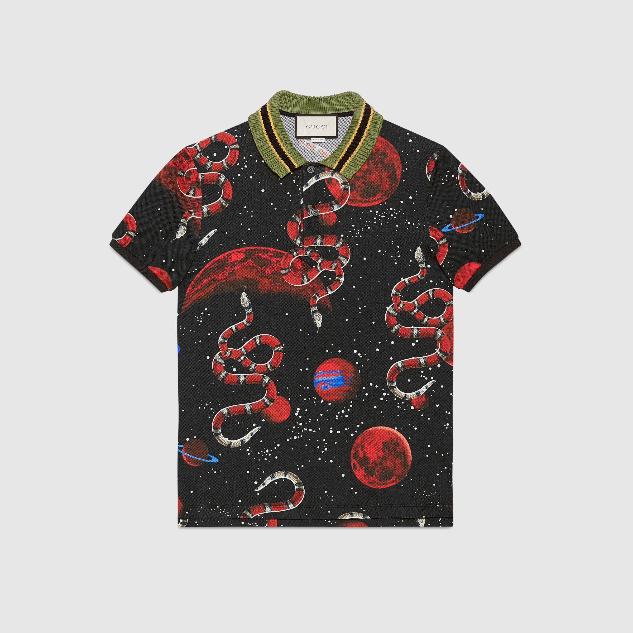 Gucci Men - Men's T-shirts & Polos - Men's Polos