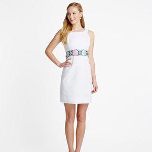Vineyard Vines Ladies Derby Sash Pique Dress