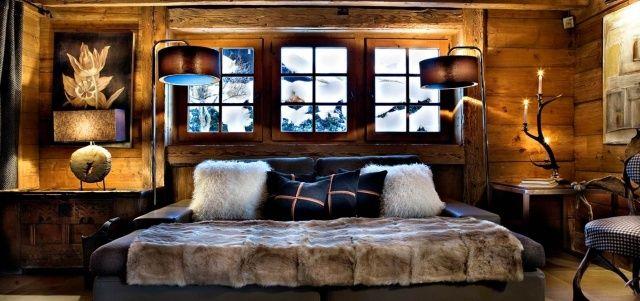 Déco chalet de montagne - atmosphère chaleureuse et unique | Lodge ...