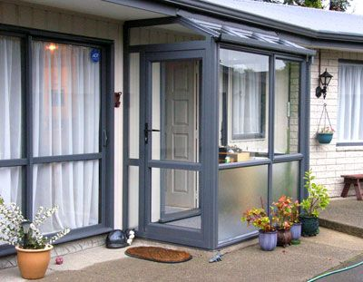 Small Porch Enclosure Glass Porch Front Porch Design Porch Design