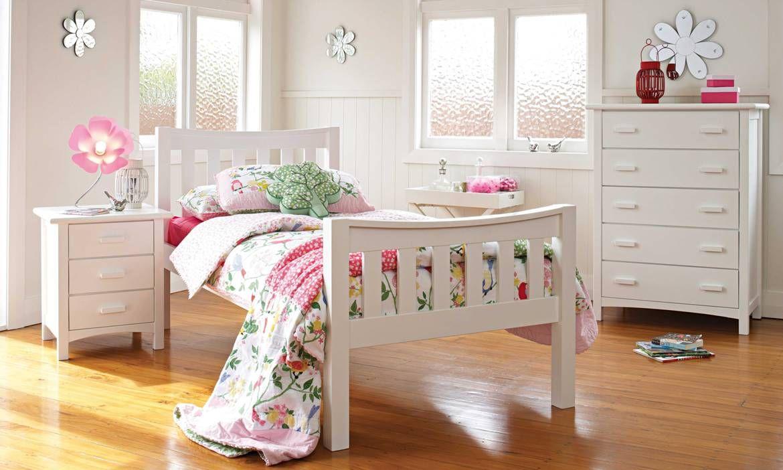 Melody Kids Bed Frame by Furniture Direct  Kids bed frames, Kid