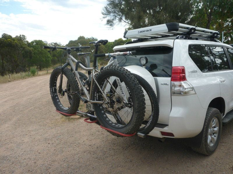 ISI Extreme Duty Bicycle Carrier for the Land Cruiser ...