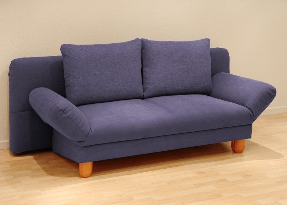 Schlafcouch design  Design Schlafsofa Bettsofa Sofa Couch Blau 2594. Buy now at https ...