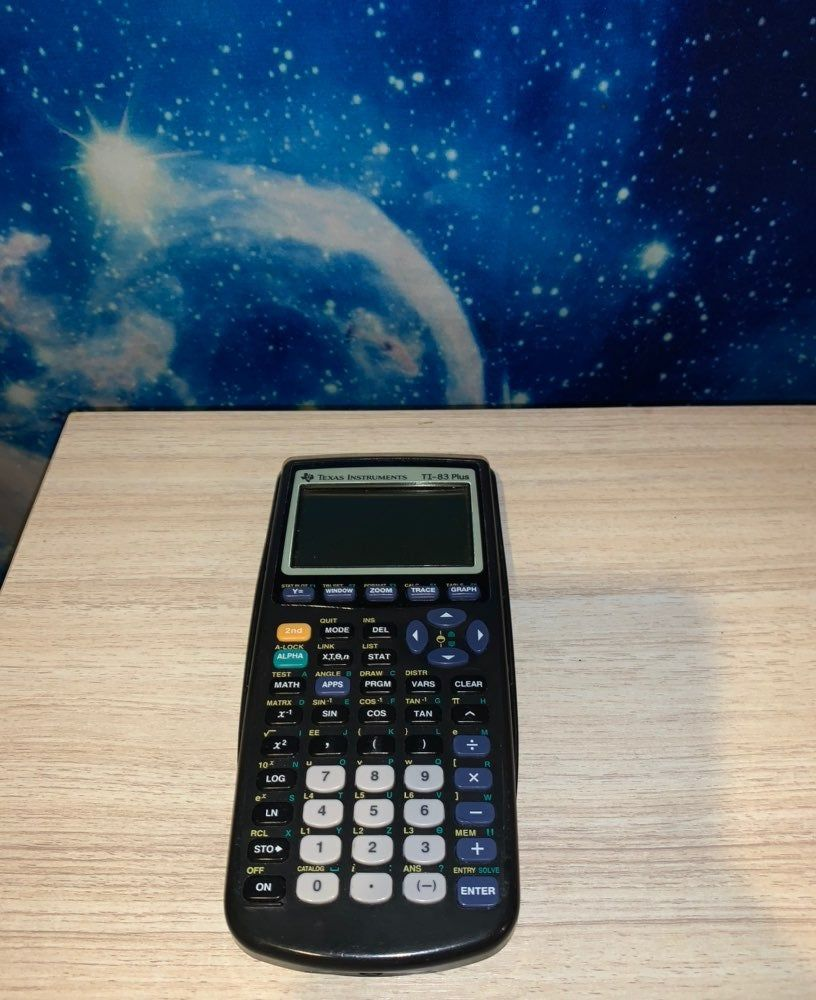 Ti 83 Plus Calculator And Cover Ships Day Of Purchase Graphing