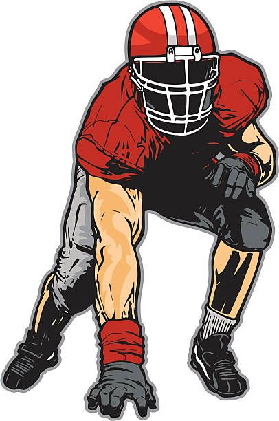 Image result for lineman football PLAYER VECTOR CLIPART ...