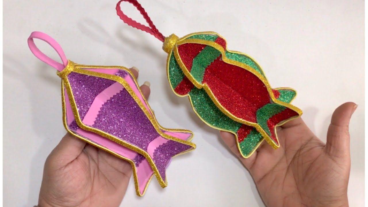 فانوس بالفوم فوانيس من ورق الفوم فانوس رمضان 2020 Ramadan Crafts Sharpie Crafts Ramadan Decorations