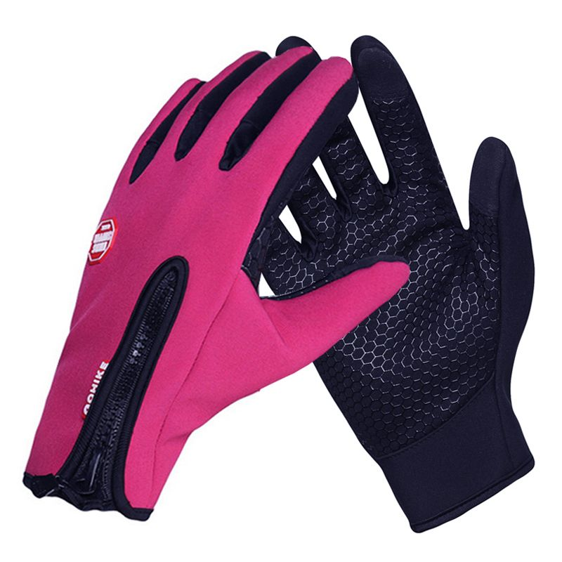 Ski Gloves Winter Breathable Women Men Touch Screen Snowboard Gloves Outdoor Sports Warm Windproof Snow Motorcycle Gloves