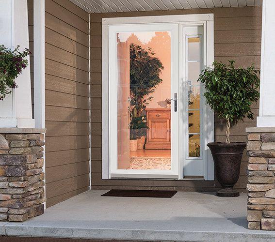 Retractable Screen Security Storm Doors Larson Storm Doors Glass Storm Doors Storm Door Aluminum Storm Doors
