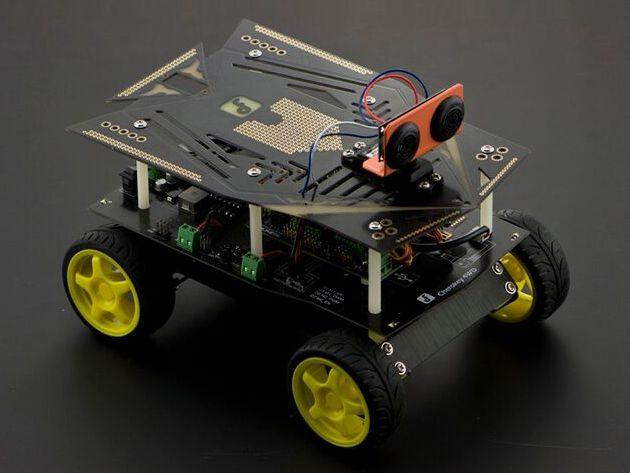 Cherokey 4wd Basic Arduino Robotics Kit Build A Remote Control Car