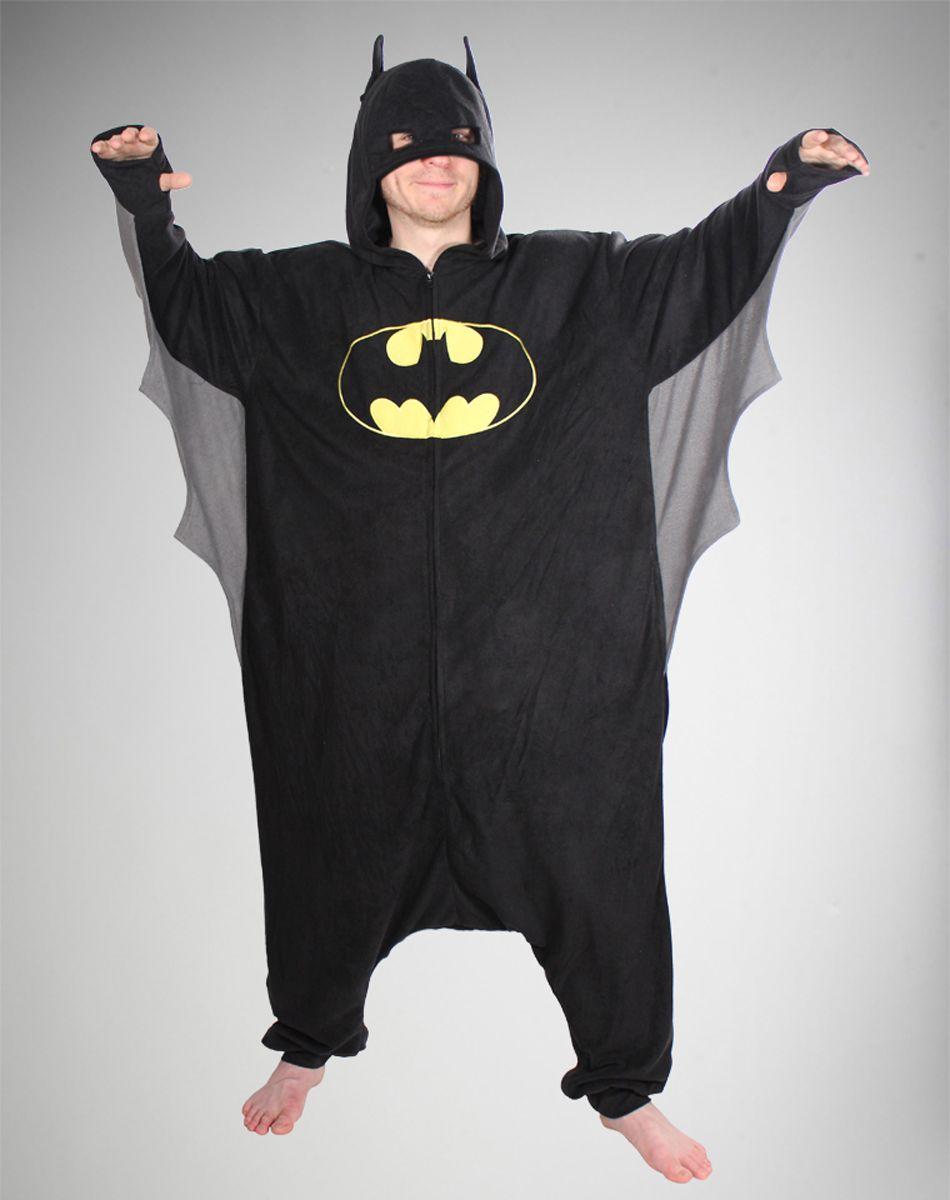 bf3ea3373d5a0e Batman Kigurumi Winged Cape Pajamas | Nerdy Wishlist | Batman onesie ...