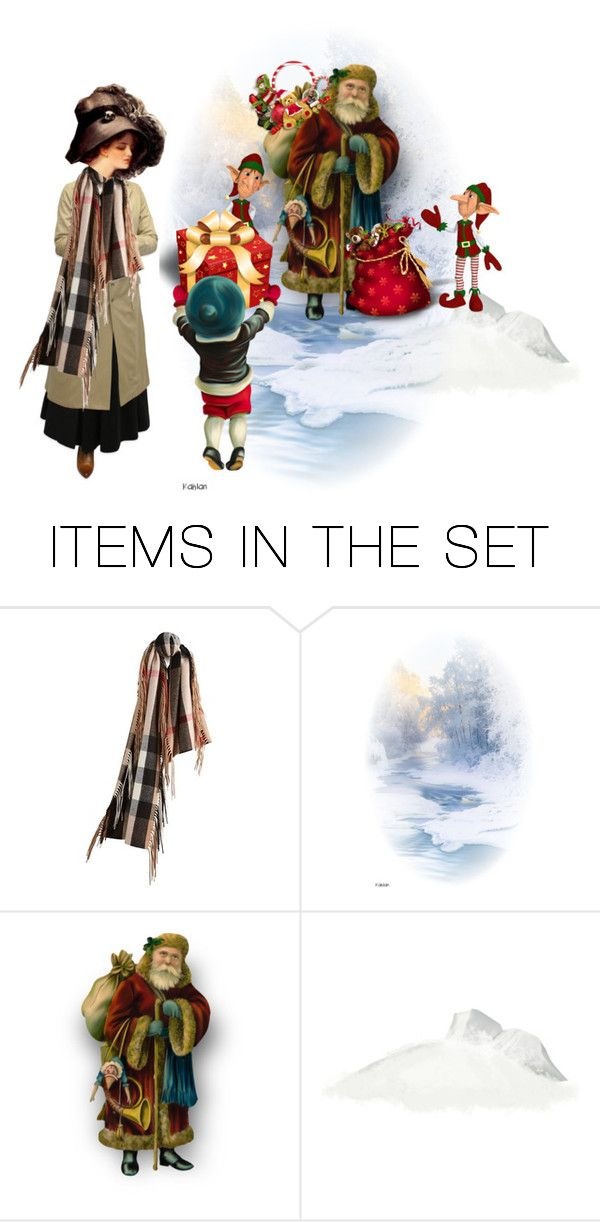 """""""Santa I Brought You A Present.."""" by marlenajo-b ❤ liked on Polyvore featuring art, gorgeousodditiesdolls and winterandholidaycheer"""