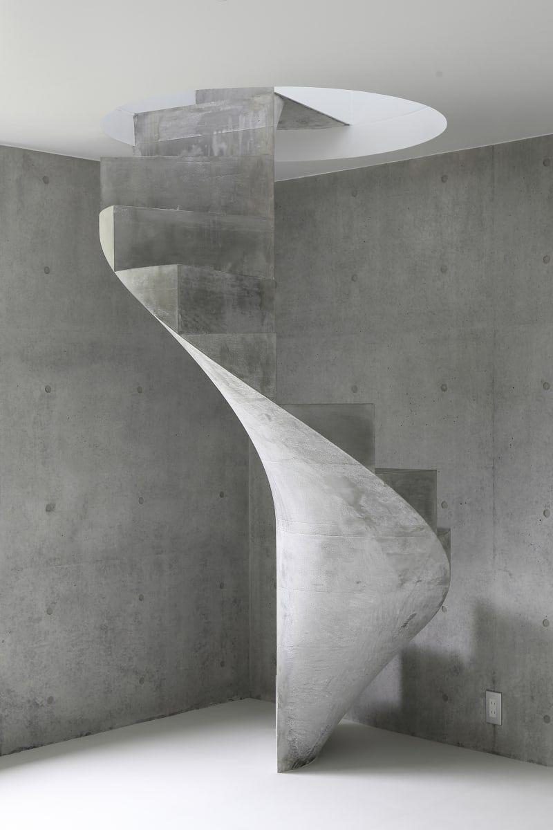 Kazunori Fujimoto Architect Associates House In Akitsu Stairs Design Interior Stairs Staircase Design