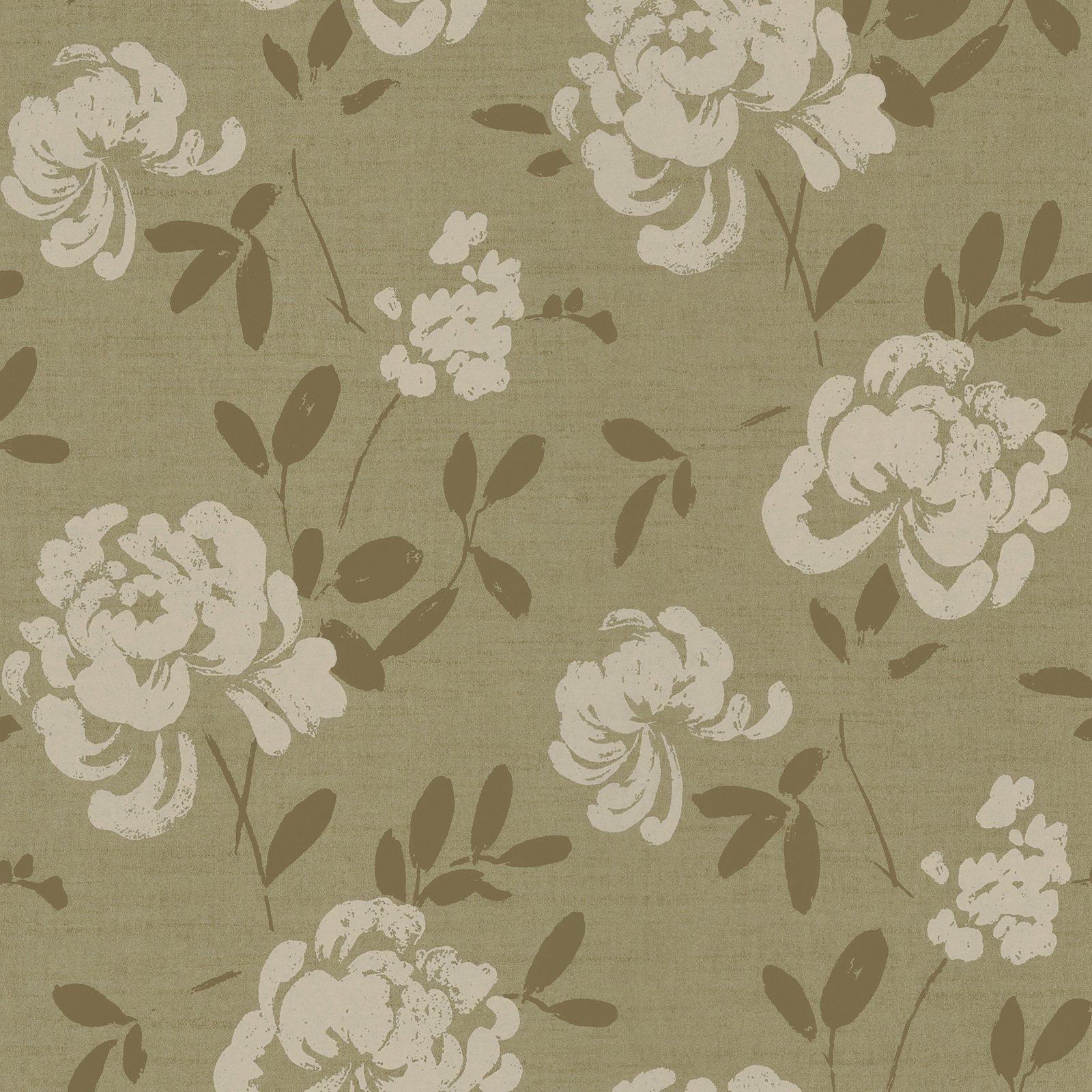 Kenneth James Madoka Japanese Floral Wallpaper Floral Wallpaper