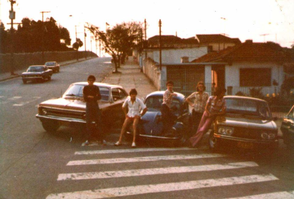 Rua Lutécia com a Alameda Rainha Santa - Vila Santa Isabel -Zona Leste - Anos 70 - São Paulo