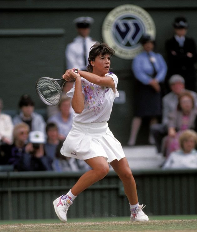This Day In Tennis History June 26 1990 Jennifer Capriati At Age 14 Became The Youngest Winner Of A Match In W Jennifer Capriati Tennis Legends Wta Tennis