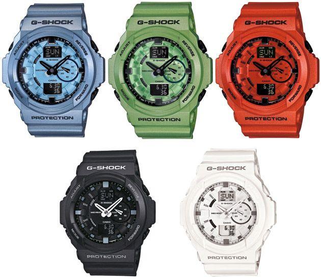 08d05edc631 Casio G-Shock GA-150 - Wiosna Lato 2012