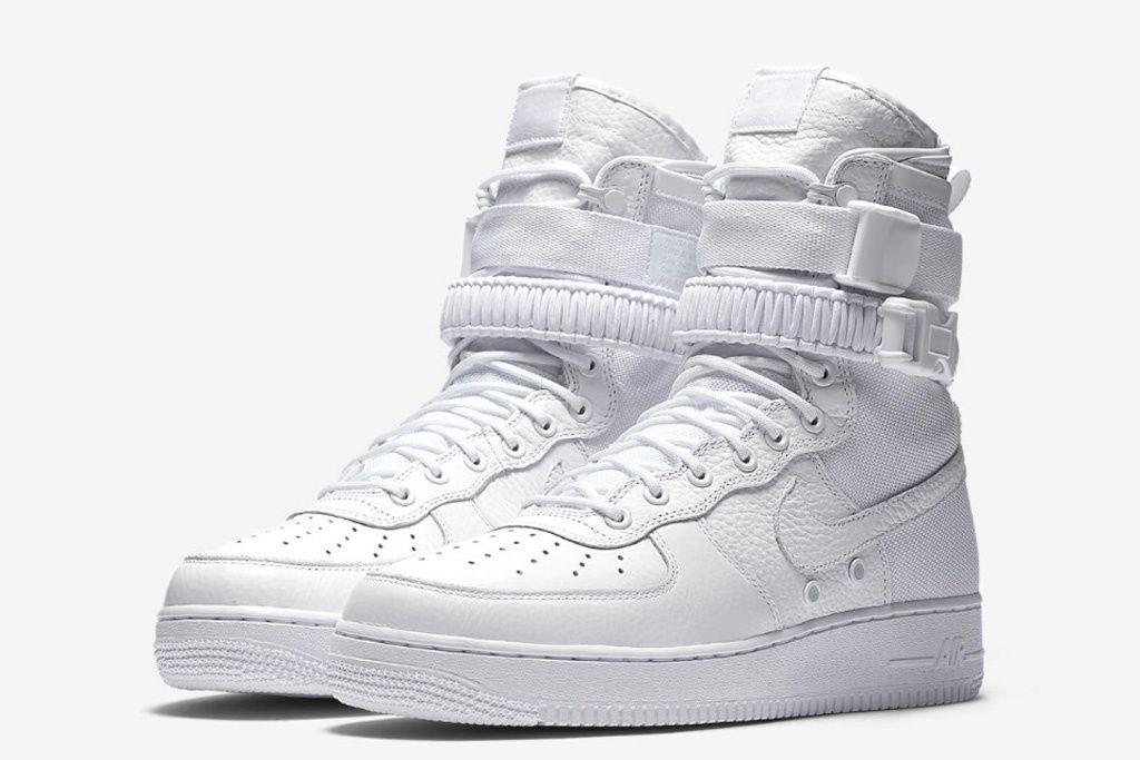 nike air force sf1 white