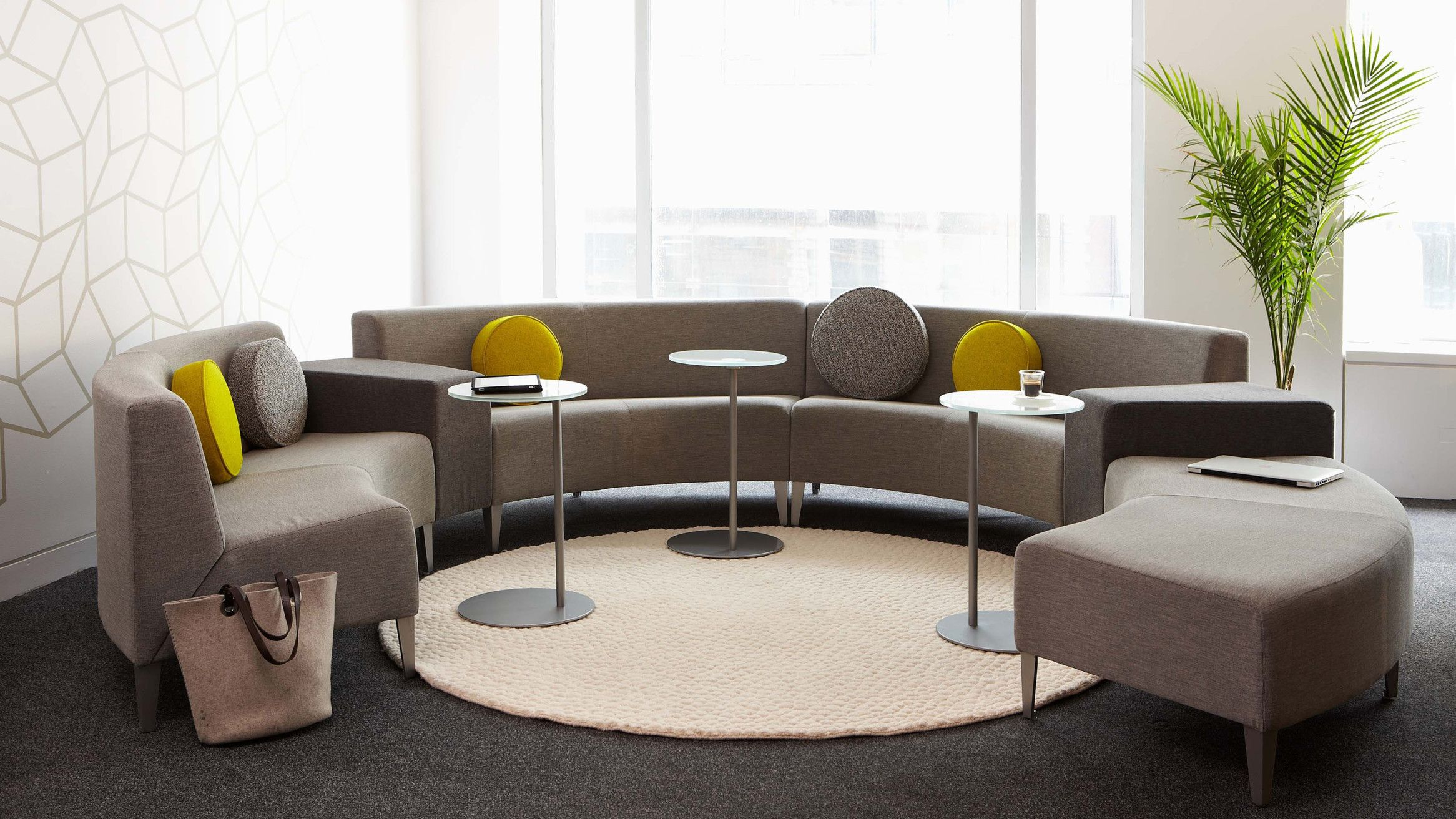 Coalesse Await Contemporary Lounge Seating