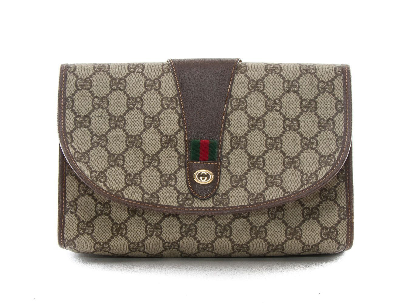807e1c83ed1f33 Authentic Gucci Accessory Collection vintage cosmetics bag | Vintage ...