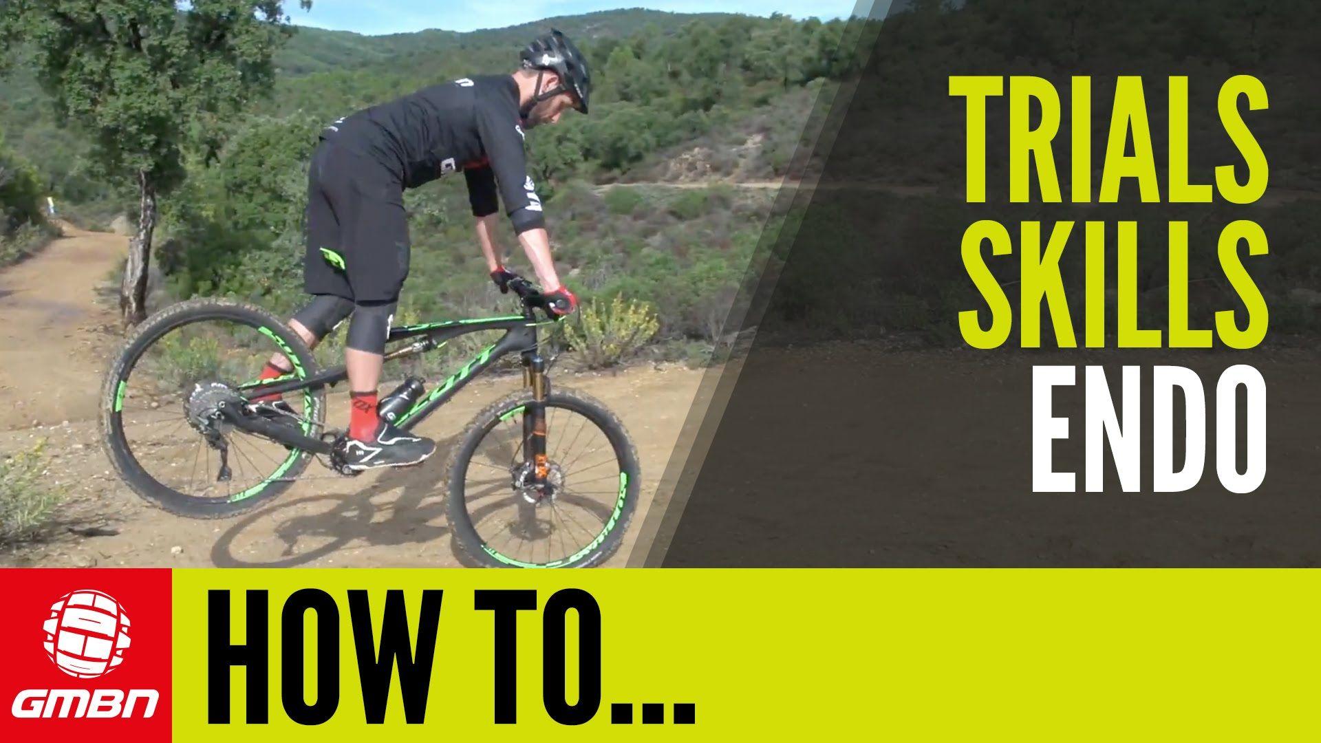 Trials Skills How To Endo Mountain Biking Mountain Biking Uk Bike