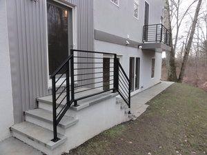 Modern exterior guardrail | Interior railings, Stair ...