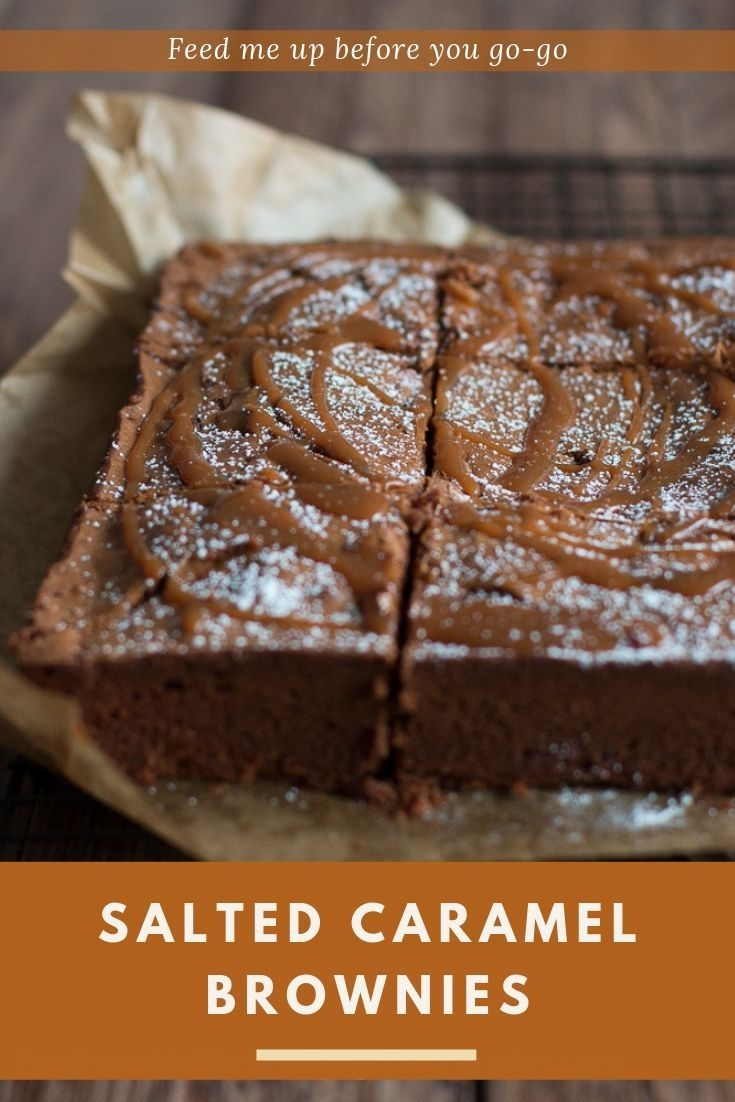Photo of Salted Caramel Brownies nach Jamie Oliver