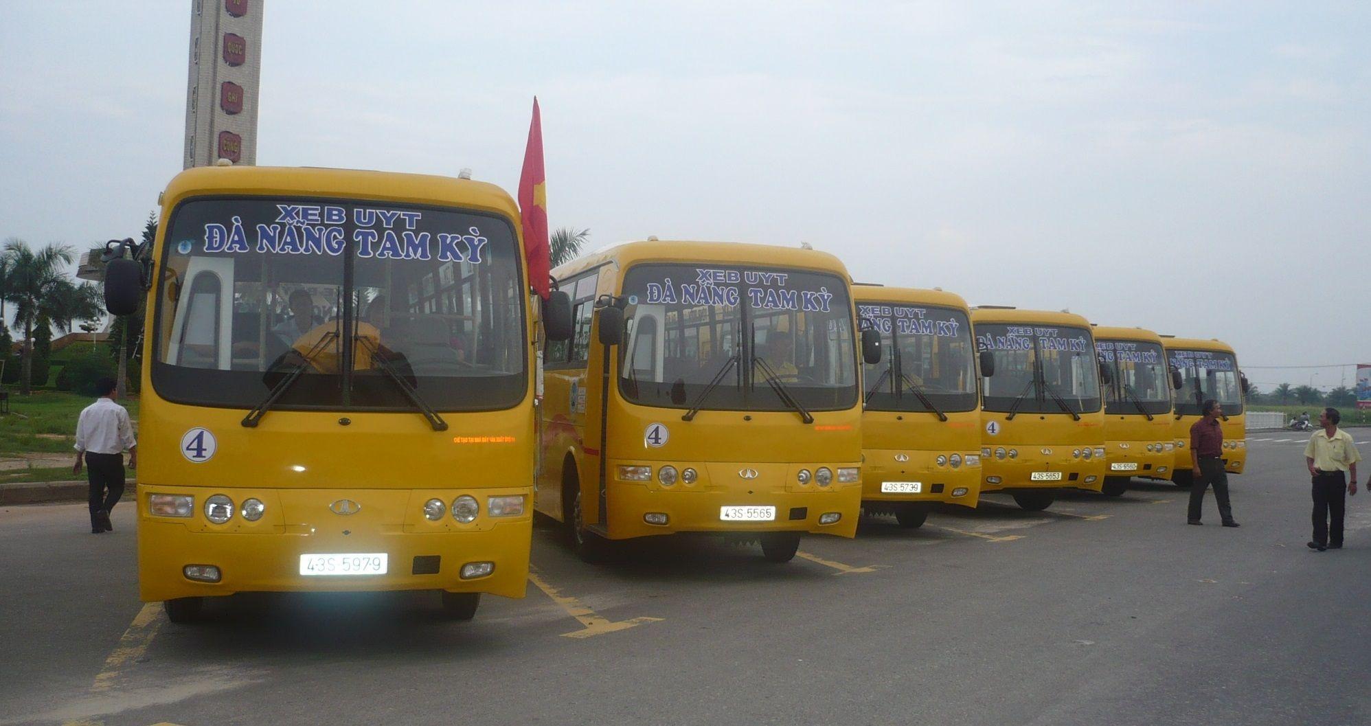 Xe bus Đà Nẵng - Tam Kỳ