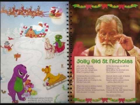 Barney A Very Merry Christmas The Movie Dvd.Barney S Night Before Christmas Dvd Version Youtube