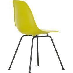 Designermöbel -  Eames Plastic Side Chair Stuhl Dsx mit Filzgleitern senf-schwarz VitraVitra  - #ApartmentDesign #Chairs #CoffeeTables #designermobel #FurnitureCollection #GeorgeNelson #Joinery #PhilippeStarck #PlywoodFurniture #SideChairs #SideTables #Stools