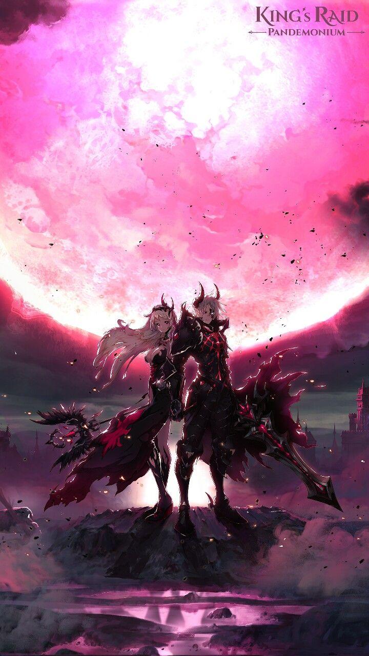 King S Raid Wallpaper For Android Anime Scenery Beautiful Fantasy Art Dark Fantasy Art