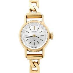 Ladies 18ct Gold Seiko Bracelet Watch