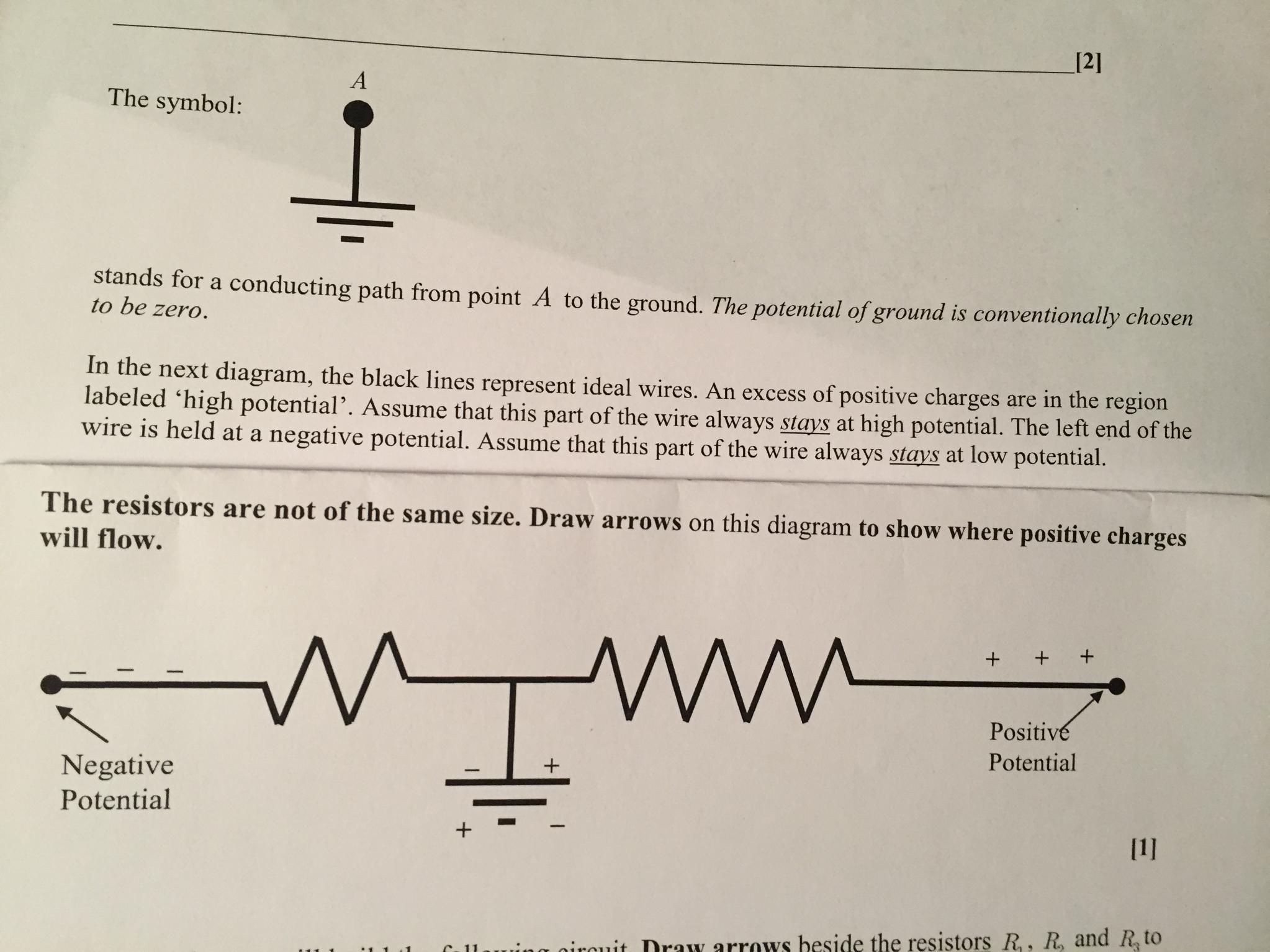 Unique Ground Wire Symbol  Diagram  Wiringdiagram
