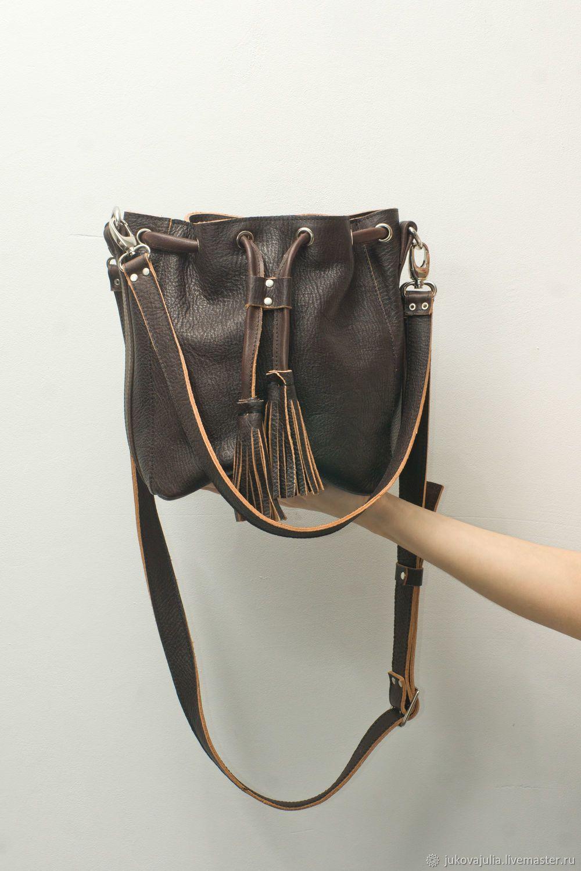 341af7c0e46b Женские сумки ручной работы. Ярмарка Мастеров - ручная работа. Купить  Коричневая торба сумка,