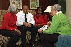 Faith Community Nurse Debra Hearring Gates Who Works Out Of