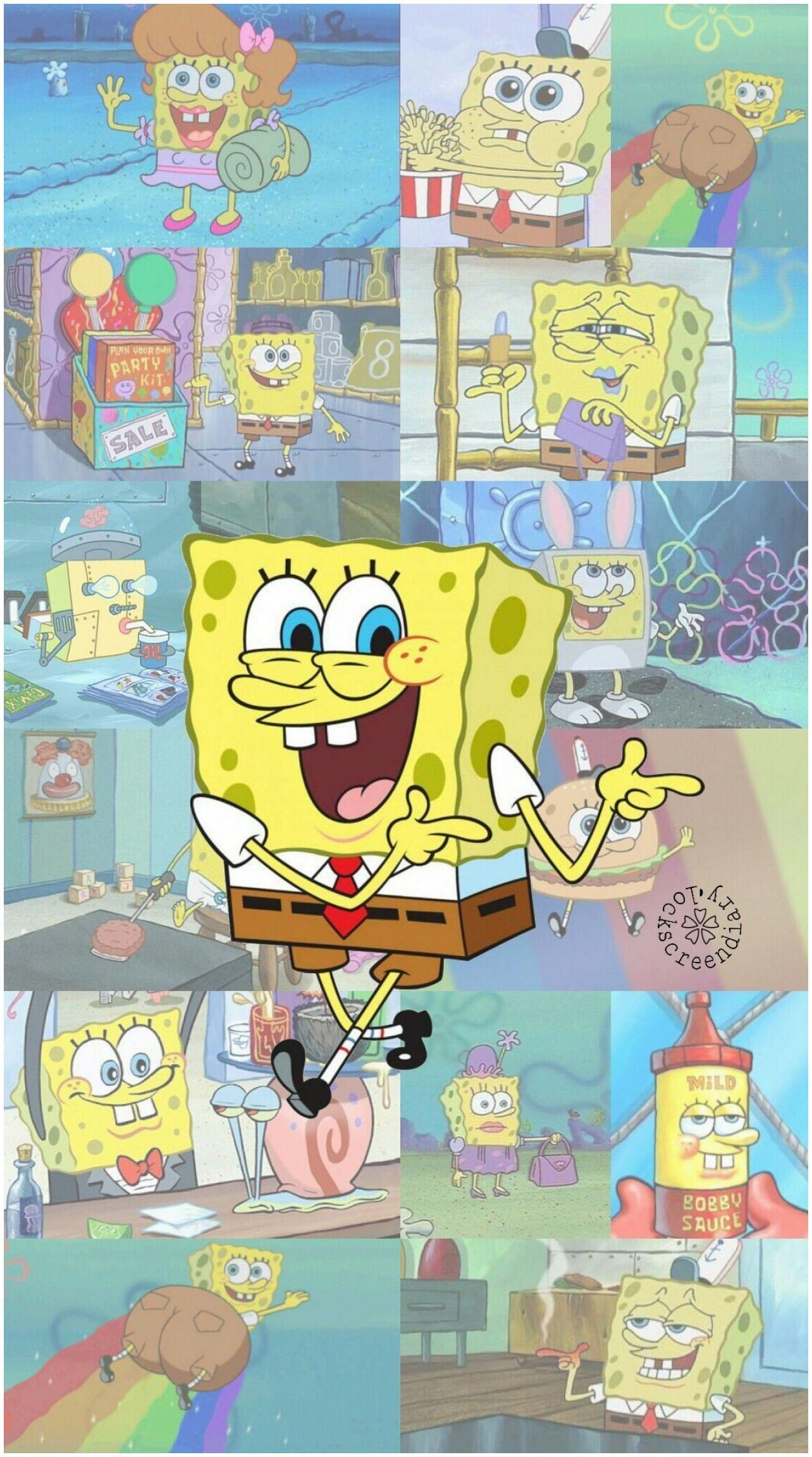 Cute Spongebob Aesthetic Wallpapers