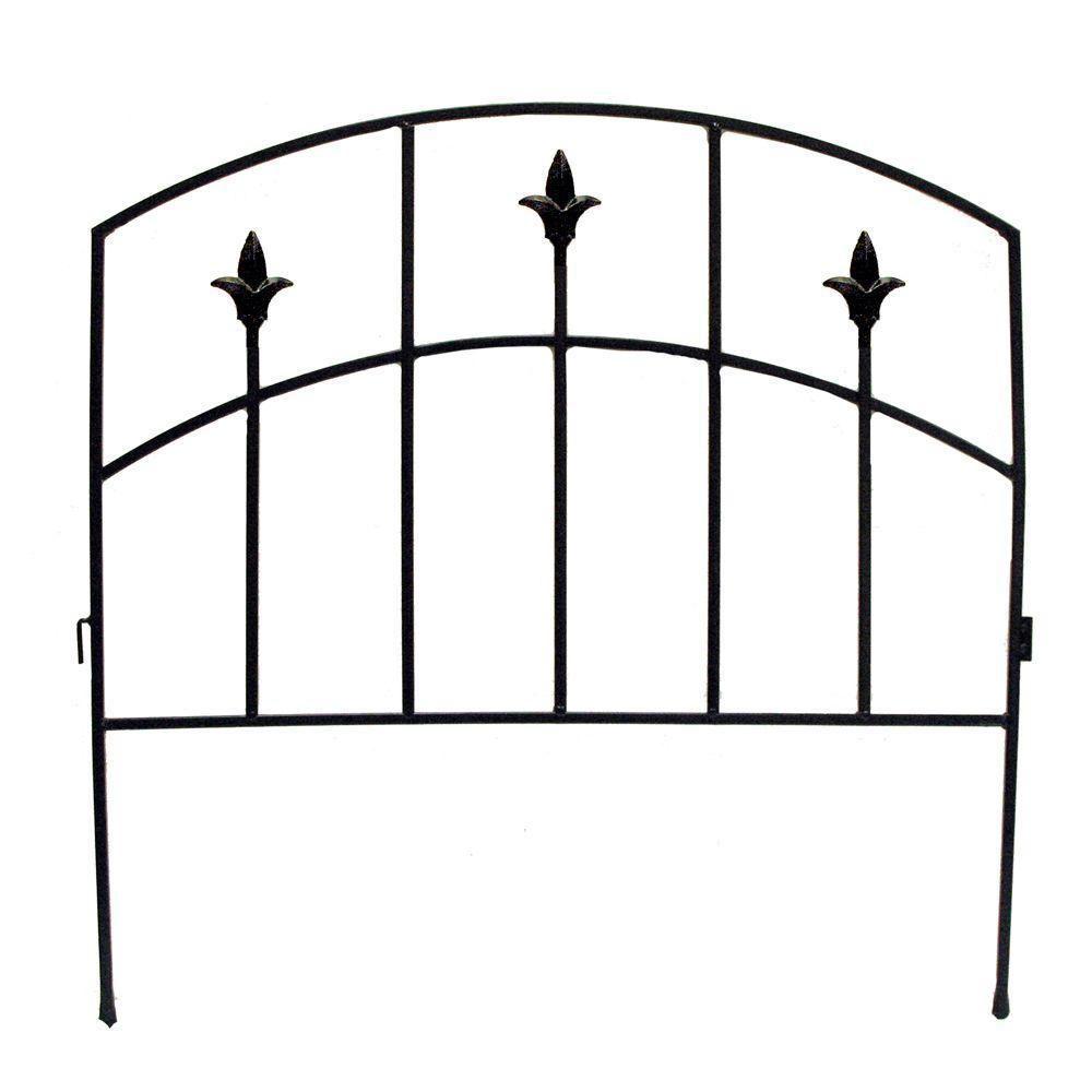 Decorative Garden Fencing Home Depot