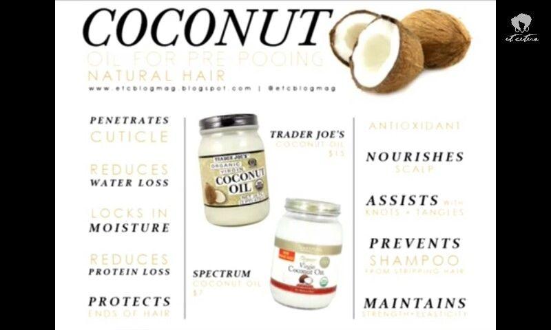 coconut oil prepoo benefits