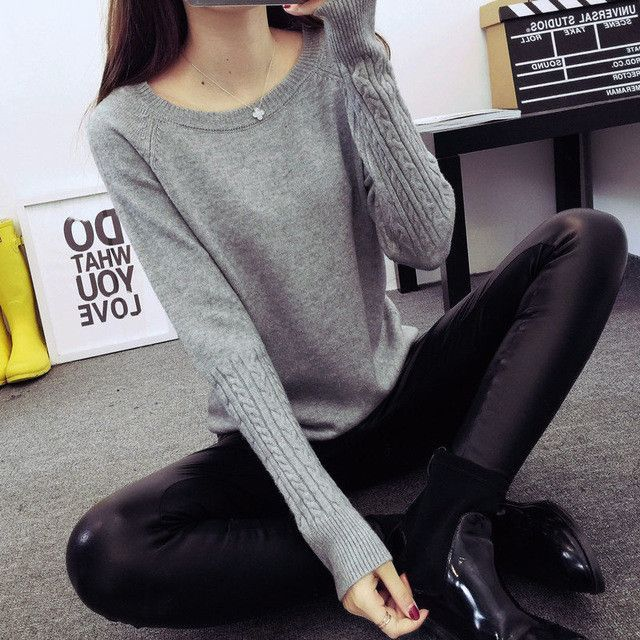 Women Sweaters Pullovers Turtleneck Sweater Women Twisted Thickening Slim Pullover Sweater