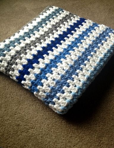 The Zipper Stripe Blanket Came About When I Wanted To Make A Unisex